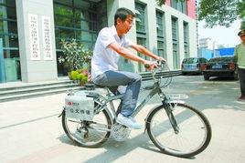 用它.在堵车和公车改革的双重压力下,公务自行车可以称之为一项值...