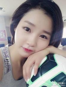 雪糕校花踢足球舞蹈照曝光 中传美女系韩国姑娘 16