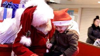 ...圣诞愿望 圣诞老人手语互动暖人心