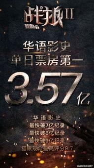 吴京自导自演电影《战狼2》   一部主旋律的片子   毫无征兆的刷新了...