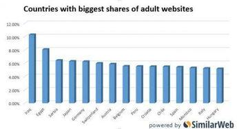 全球色情网站流量来源出炉 第一名出乎意料