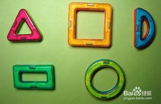 用不同形状的磁力片可以组装出多种造型的作品,趣味和可玩性强,大...