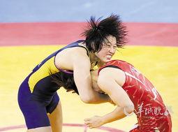 王娇17秒速败 图解摔跤规则解析为何速败