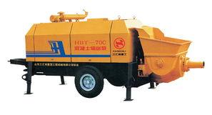 拖泵型号 -三汇利HBT75C 16 174D柴油机S阀型砼泵