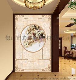 ...砖 紫气东来 迎门墙瓷砖背景墙 陶瓷艺术壁画图片,佛山瓷砖背景墙...