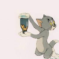 猫和老鼠高清情侣头像 猫和老鼠情侣头像