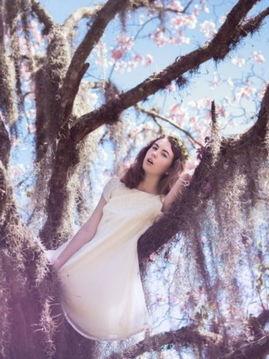女神梦游仙境 拍出天然的自然女性美