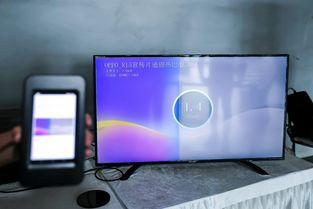 ...屏通话演示利用OPPO手机上的3D结构光相机采集被摄物色彩和3D...