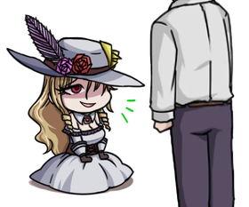 希尔薇表情包 奴隶少女希尔薇QQ表情包下载
