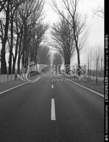 遥远的道路,其它,自然风景,摄影,汇图网