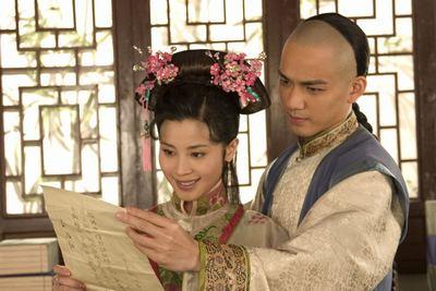 的心.从《太祖秘史》中饰演的孟古,《康熙秘史》中的惠儿,到《杨...