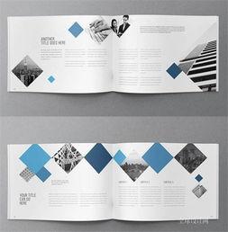 公司宣传册排版设计欣赏