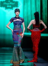 ...r Deng Hao displayed at China Fashion Week
