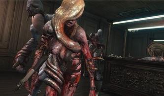 生化危机启示录变异瑞秋与女汉克DLC视频欣赏