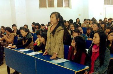 广东海大集团来会计学院举行专场招聘会