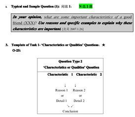 托福口语Task1 6详细解析 PDF版本