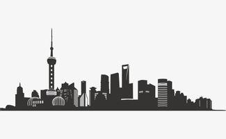 城市高楼剪影矢量北京剪影素材图片免费下载 高清图片pngpsd 千库网 图片编号6979896