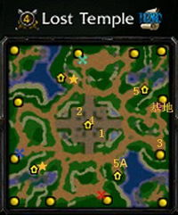 四、Lost Temple(图4)   这副地图上,Archer在初期可以发挥极大的...