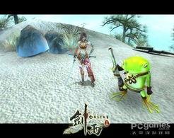 ...剑雨OL》--青蛙王子和公主-细数 剑雨OL 中的美女与野兽