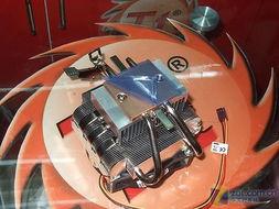 Tt A3139 DuCool散热器的铜质底面-选天堂or地狱 3款百元热管散热器...