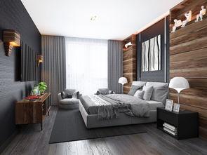 朽木饰界高级灰卧室