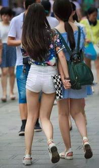 美女夏天不穿热裤跟咸鱼有什么区别