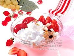 冰激凌 ——蓝莓冰激凌