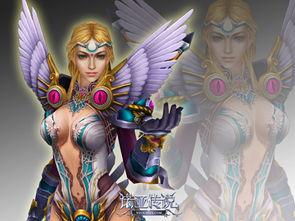 图8 异能者——女性角色造型-诺亚传说四大职业精美模型CG赏析
