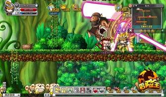 冒险王 30级BOSS猴精壮壮打法