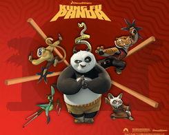 热门动漫电影功夫熊猫精美壁纸