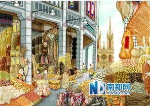 ...干货一条街.(东北漫画家扬眉配的钟洁玲新书插图,下同)-这是最...