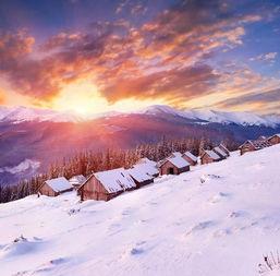 形容雪景的佳句