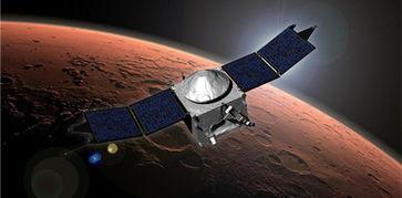 ...化任务探测器(MAVEN)的艺术概念图.-频遭媒体学界质疑 火星移...