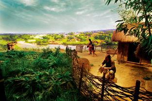 生活环境:碧野蓝天下的摸底河水... 远处传来狩猎归来的欢声笑语.   ...
