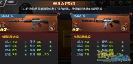 CF手游黑骑士换购多少钱 M4A1黑骑士怎么换购