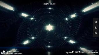 led 炫丽动态图视频背景光效图片