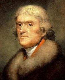 美利坚合众国第三任总统 美国开国元勋 托马斯 杰斐逊简介