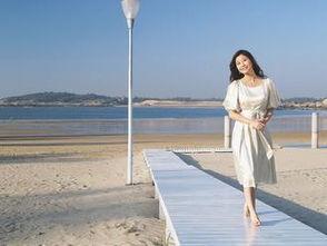 金门网友说,台湾艺人胡晴雯就是资深的金门美女.图片来源:台湾《...