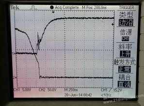 ...F740 关断波形有杂波