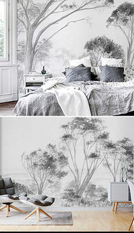 PNG树 黑白 手绘 PNG格式树 黑白 手绘素材图片 PNG树 黑白 手绘设...