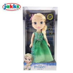 杰克仕正品夏日惊喜版冰雪奇缘艾莎公主安娜公主人偶娃娃女孩玩具