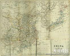 帝国基地在清朝-大清国地图全图 属于钓鱼岛属于中国