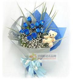 蓝玫瑰的花语是什么 蓝玫瑰代表什么 送蓝玫瑰有什么含义