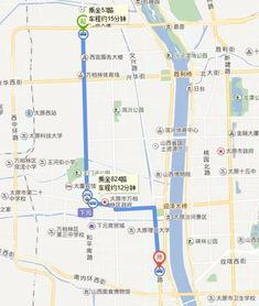 和平北路北中环街口到大王村怎么走