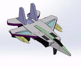 三维飞机玩具模型