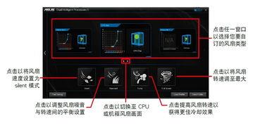 自订风扇设置   Smart Mode可让您... 通过风扇自动调整功能,华硕Fan ...