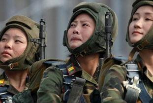 ...射 揭秘神秘的朝鲜女兵 组图