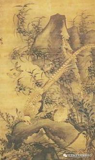 宫博物院藏明代林良雉鸡图轴   故... 家禽中的大公鸡是我们最熟悉的一...