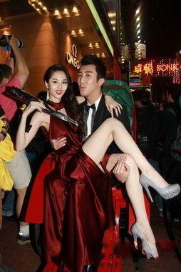 全球首部3D情色电影《3D肉蒲团之极乐宝鉴》在港举行首映礼,演员...