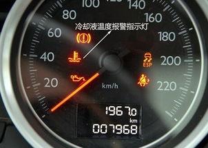 发动机冷却液 防冻液 不足图标 标志